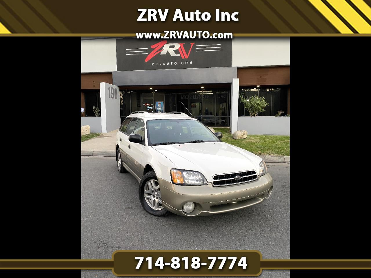 Subaru Legacy Wagon 5dr Outback Auto w/RB Equip 2000