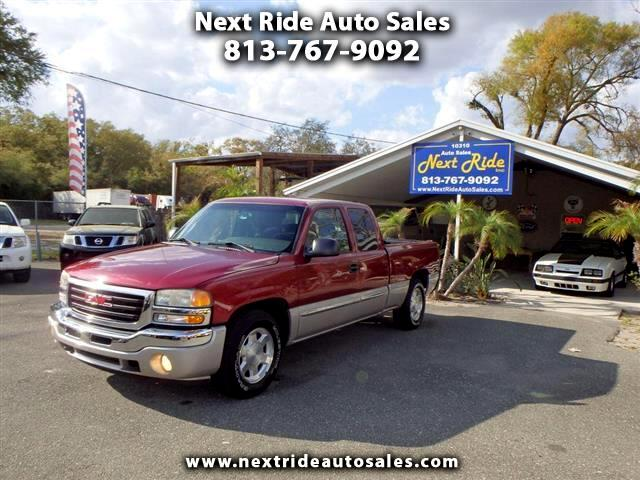 2005 GMC Sierra 1500 SLE Ext. Cab 4-Door Short Bed 2WD