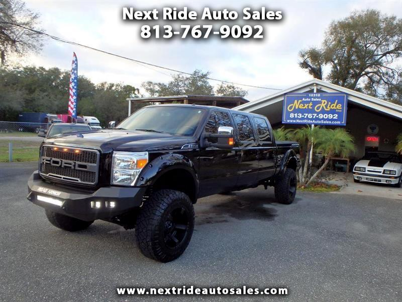 2016 Ford F-350 SD 6 DOOR LIFTED F350SD PLATINUM CREW CAB 4WD DIESEL