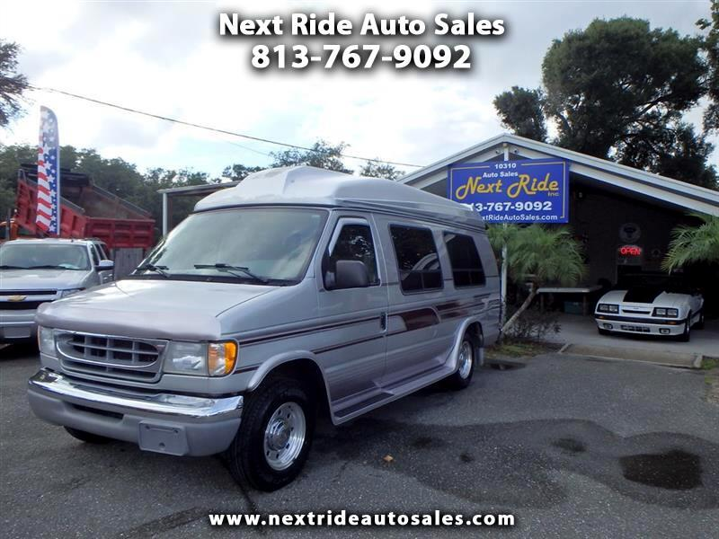 2001 Ford Econoline E250 EXTENDED CONVERSION WHEEL CHAIR VAN