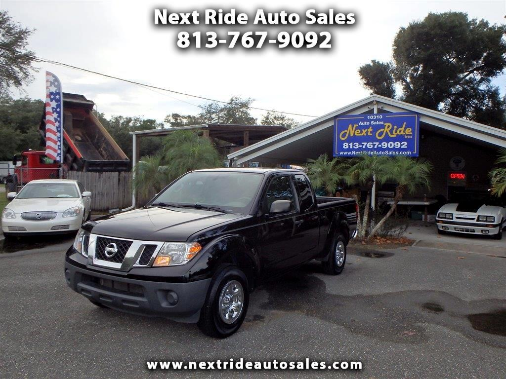 used 2014 nissan frontier s king cab 2wd for sale in tampa fl 33610 next ride auto sales 2014 nissan frontier s king cab 2wd