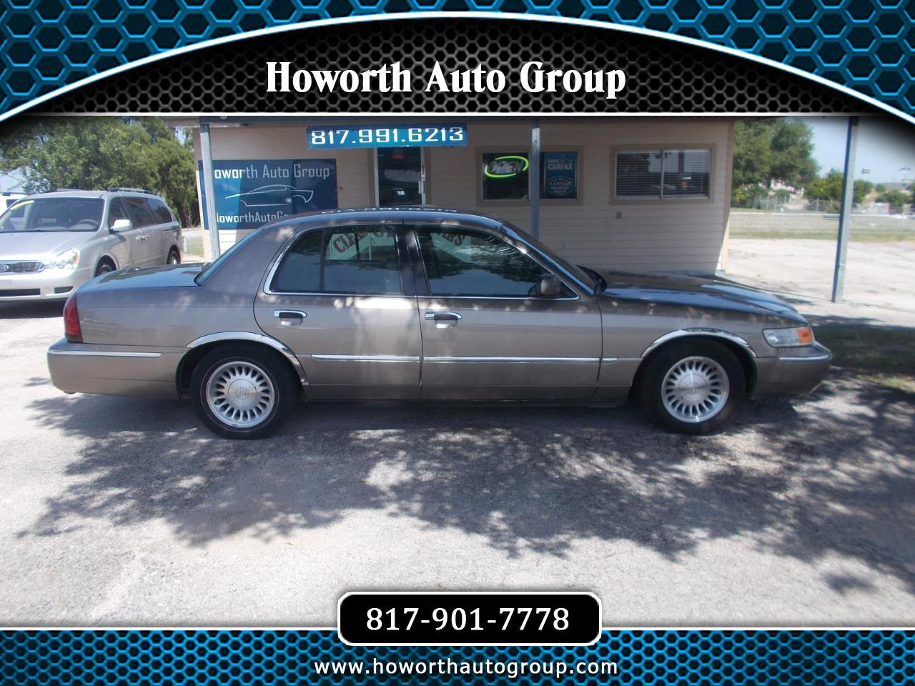Mercury Grand Marquis LS 2001