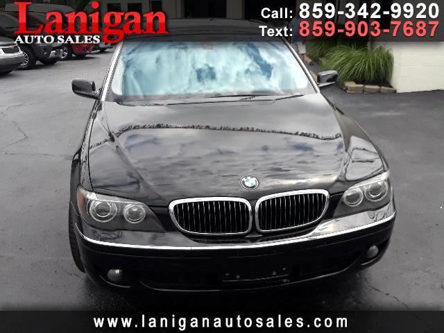 2008 BMW 7-Series 750Li