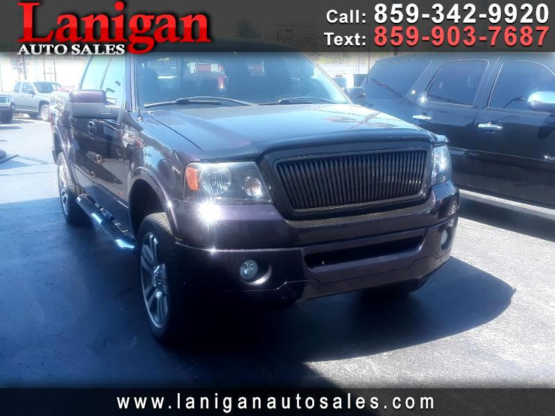 "2007 Ford F-150 4WD SuperCrew 145"" Harley-Davidson"