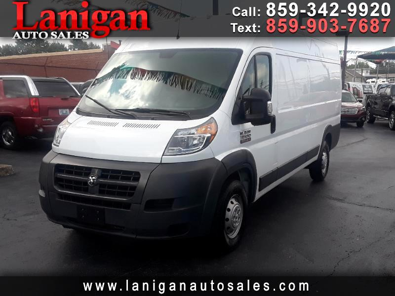 "2017 RAM ProMaster Cargo Van 3500 Extended High Roof 159"" WB"