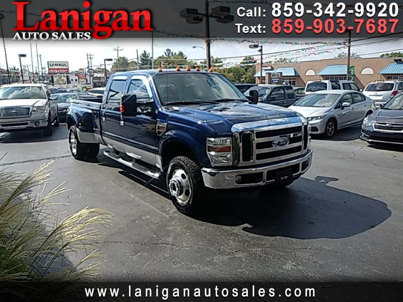 2008 Ford F-350 SD Lariat Crew Cab Long Bed 4WD DRW