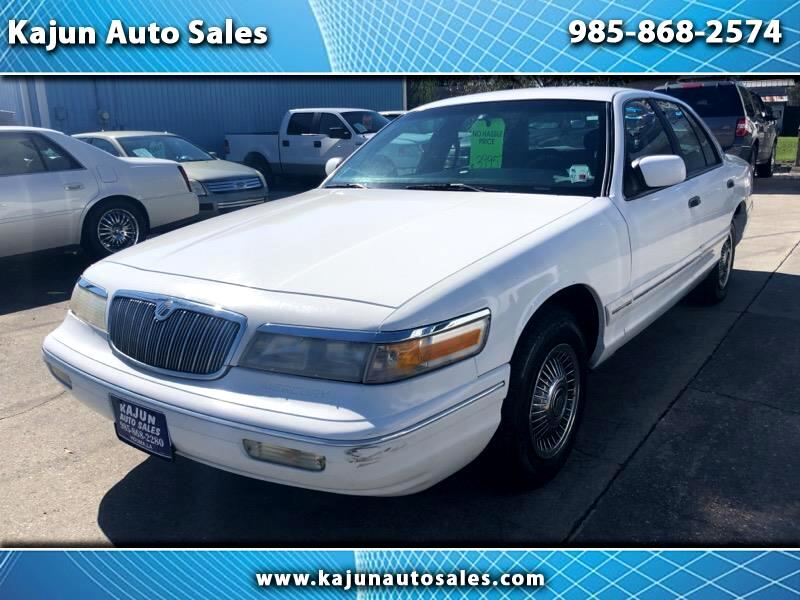 1996 Mercury Grand Marquis 4dr Sdn GS