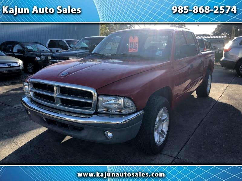 2000 Dodge Dakota Quad Cab Sport 2WD