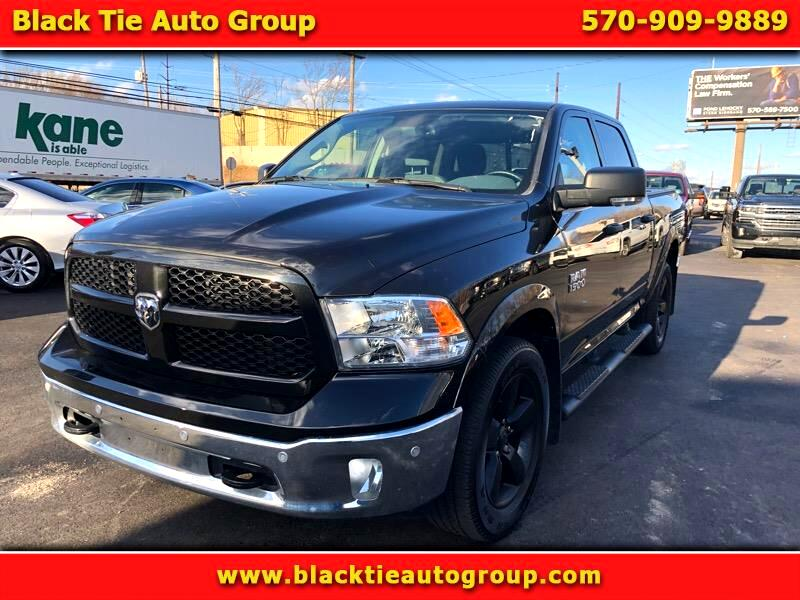 "2016 RAM 1500 Outdoorsman 4x4 Crew Cab 5'7"" Box"