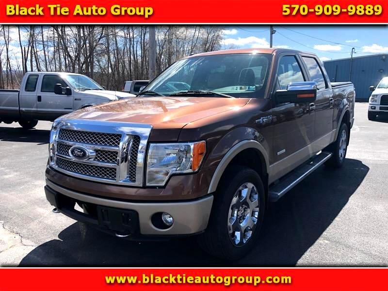 "2012 Ford F-150 SuperCrew 150"" Lariat 4WD"
