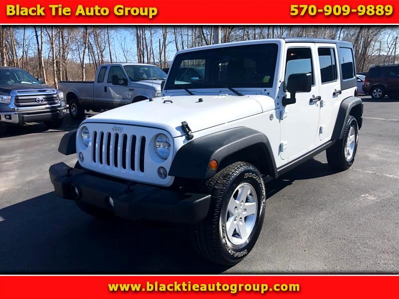 2015 Jeep Wrangler 4WD 4dr Unlimited X