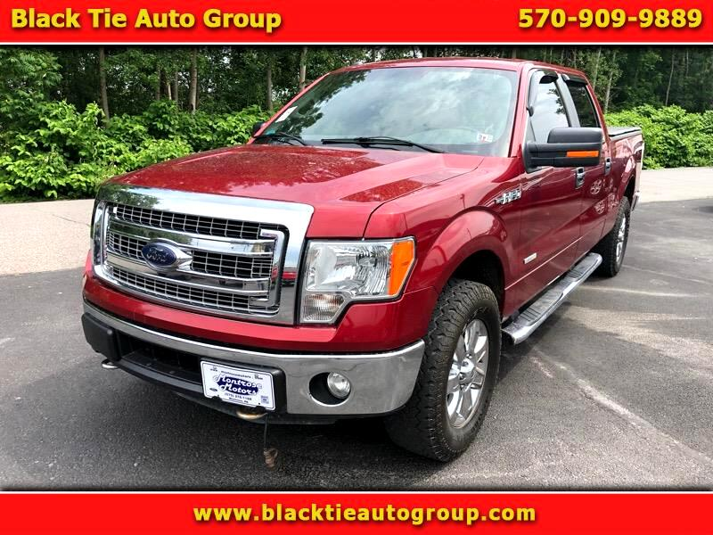 "2014 Ford F-150 4WD SuperCrew 157"" XLT"