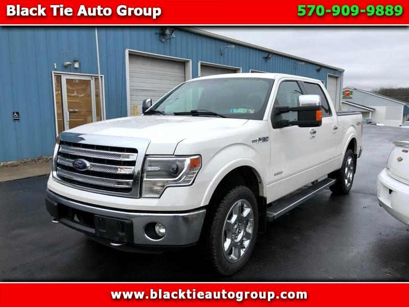 "Ford F-150 SuperCrew 139"" Lariat 4WD 2013"