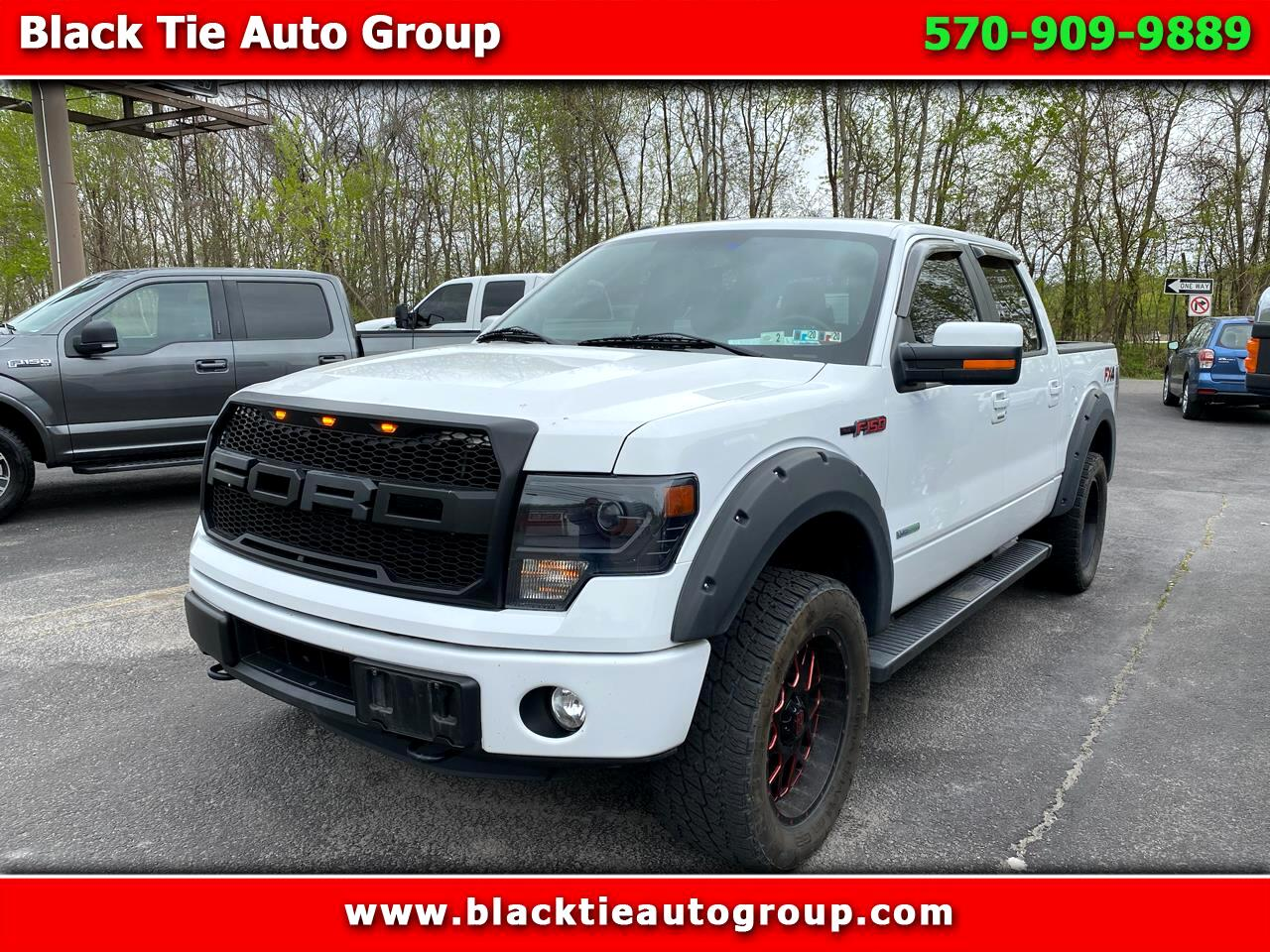 """Ford F-150 4WD SuperCrew 139"""" FX4 2014"""