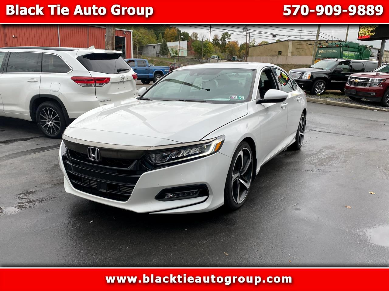 Honda Accord Sedan Sport 2.0T Auto 2018