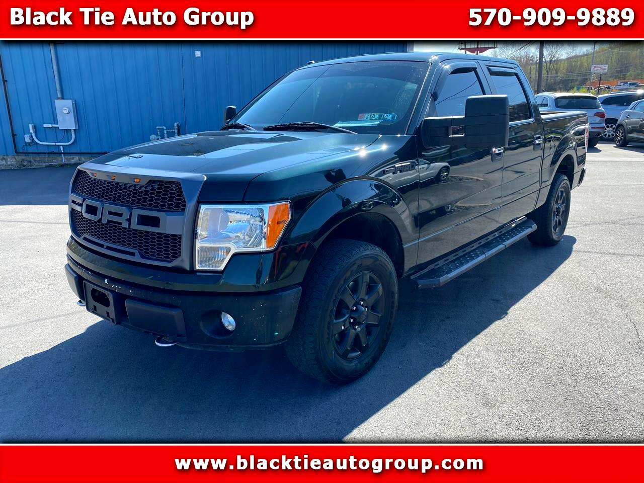 "Ford F-150 4WD SuperCrew 145"" XLT 2013"