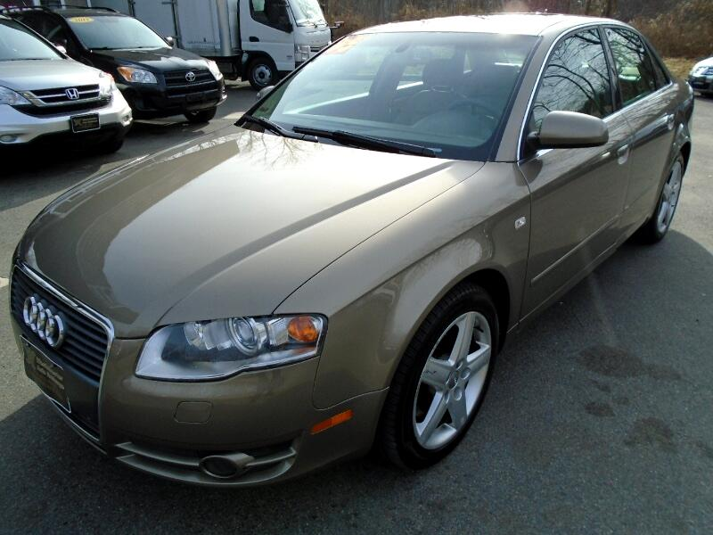 2005 Audi A4 3.2 quattro with Tiptronic