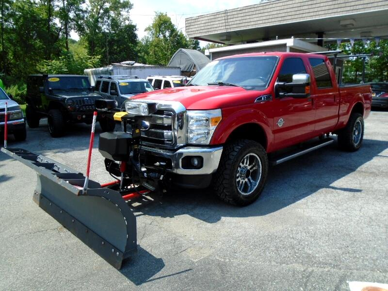 2012 Ford F-250 SD Lariat Crew Cab Long Bed 4WD