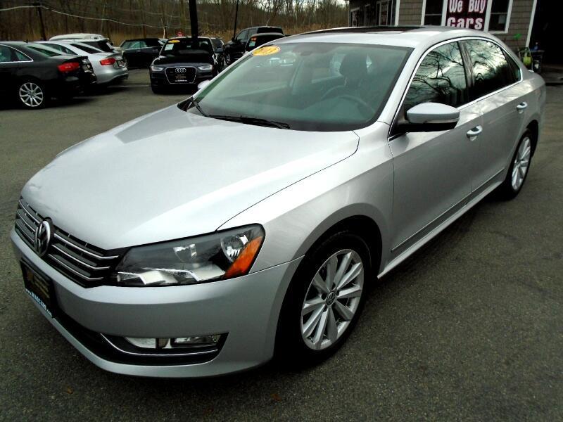 Volkswagen Passat 2.5L SEL 2013
