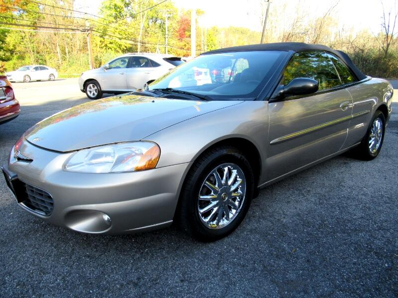 Chrysler Sebring Limited Convertible 2002
