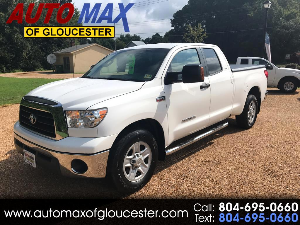 2008 Toyota Tundra 2WD Truck Dbl 5.7L V8 6-Spd AT  (Natl)