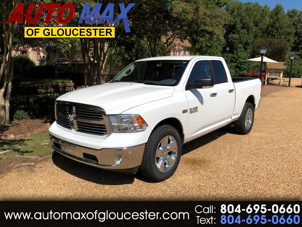 "2017 RAM 1500 Big Horn 4x4 Quad Cab 6'4"" Box"