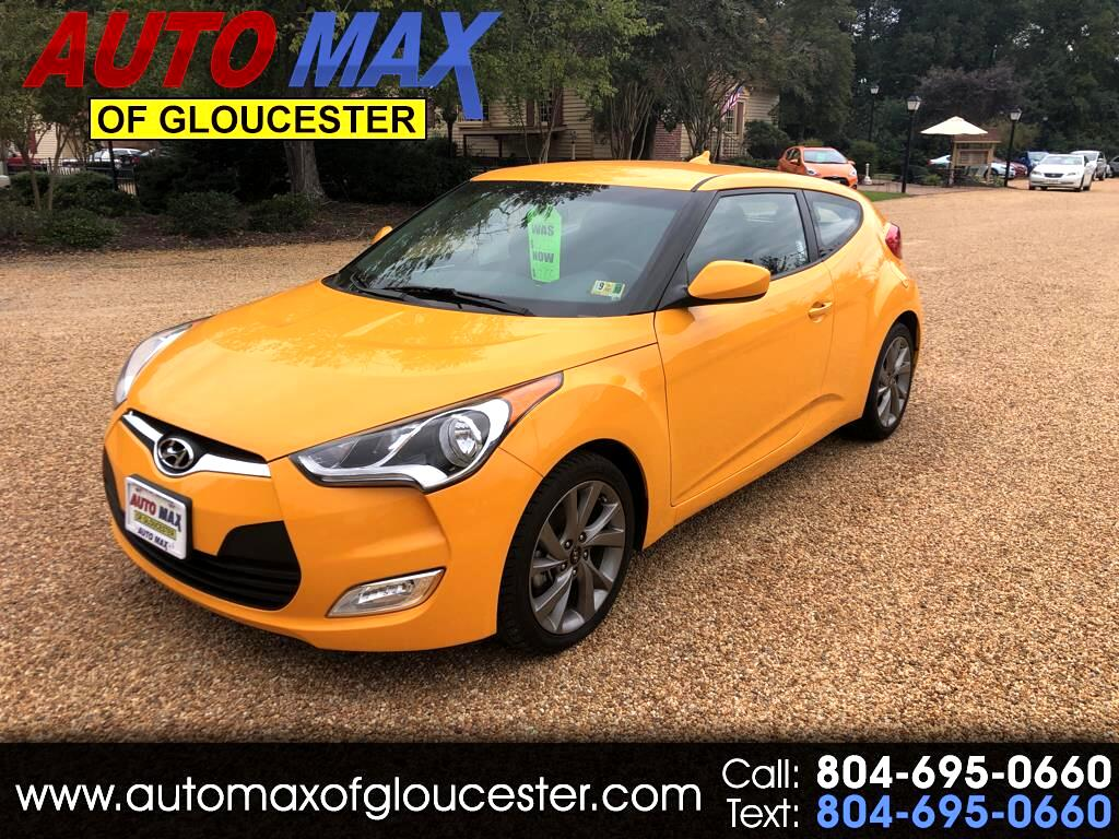 2017 Hyundai Veloster AUTO 6SPEED ECOSHIFT