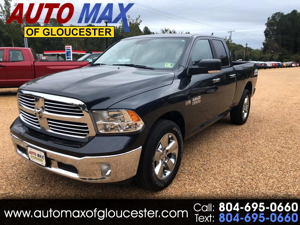 "2018 RAM 1500 Big Horn 4x4 Quad Cab 6'4"" Box"