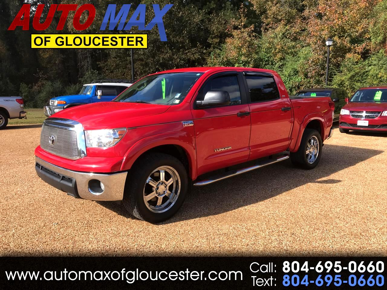 2011 Toyota Tundra 2WD Truck CrewMax 5.7L V8 6-Spd AT  (Natl)