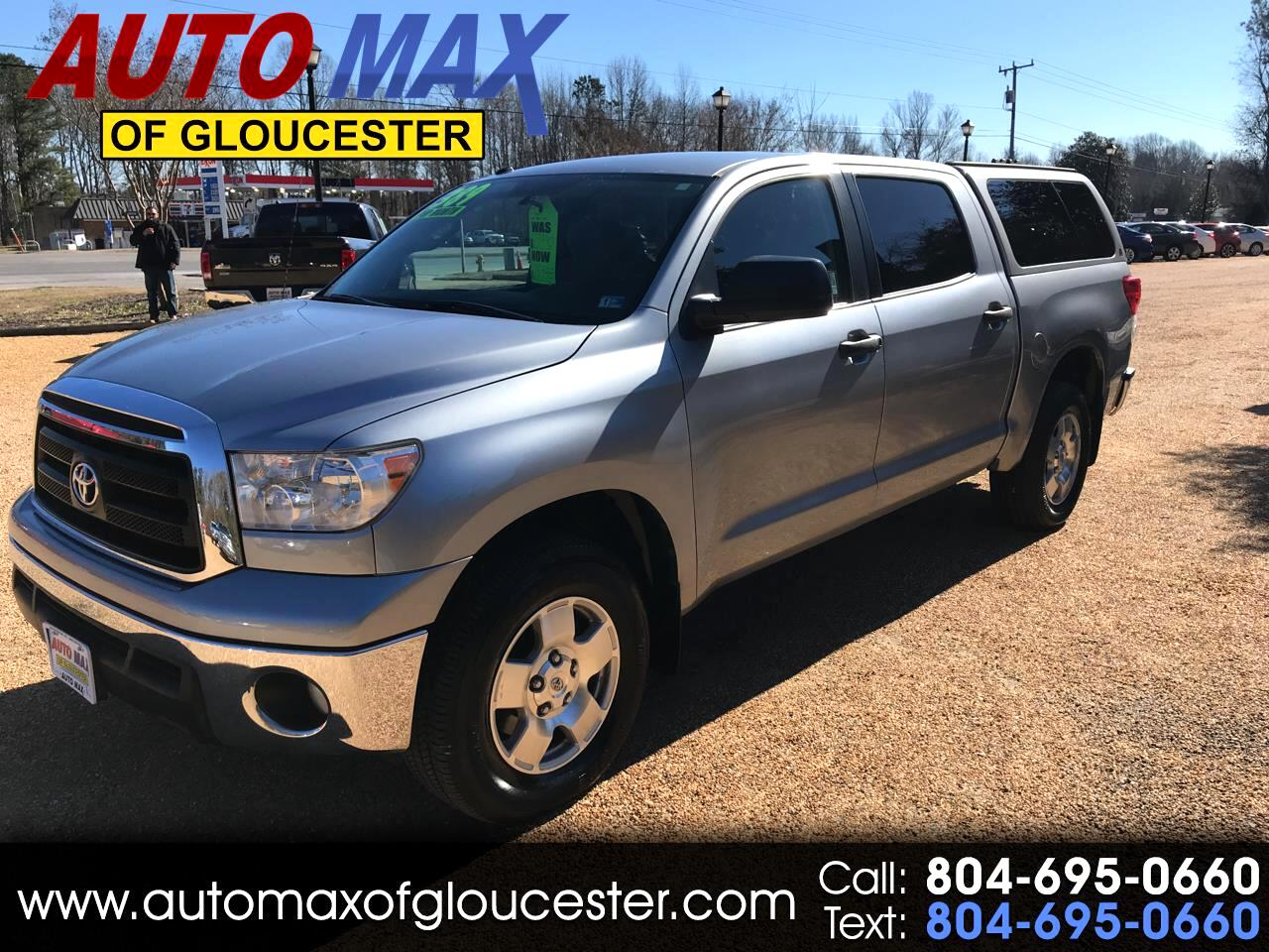 2011 Toyota Tundra 4WD Truck CrewMax 5.7L V8 6-Spd AT (Natl)