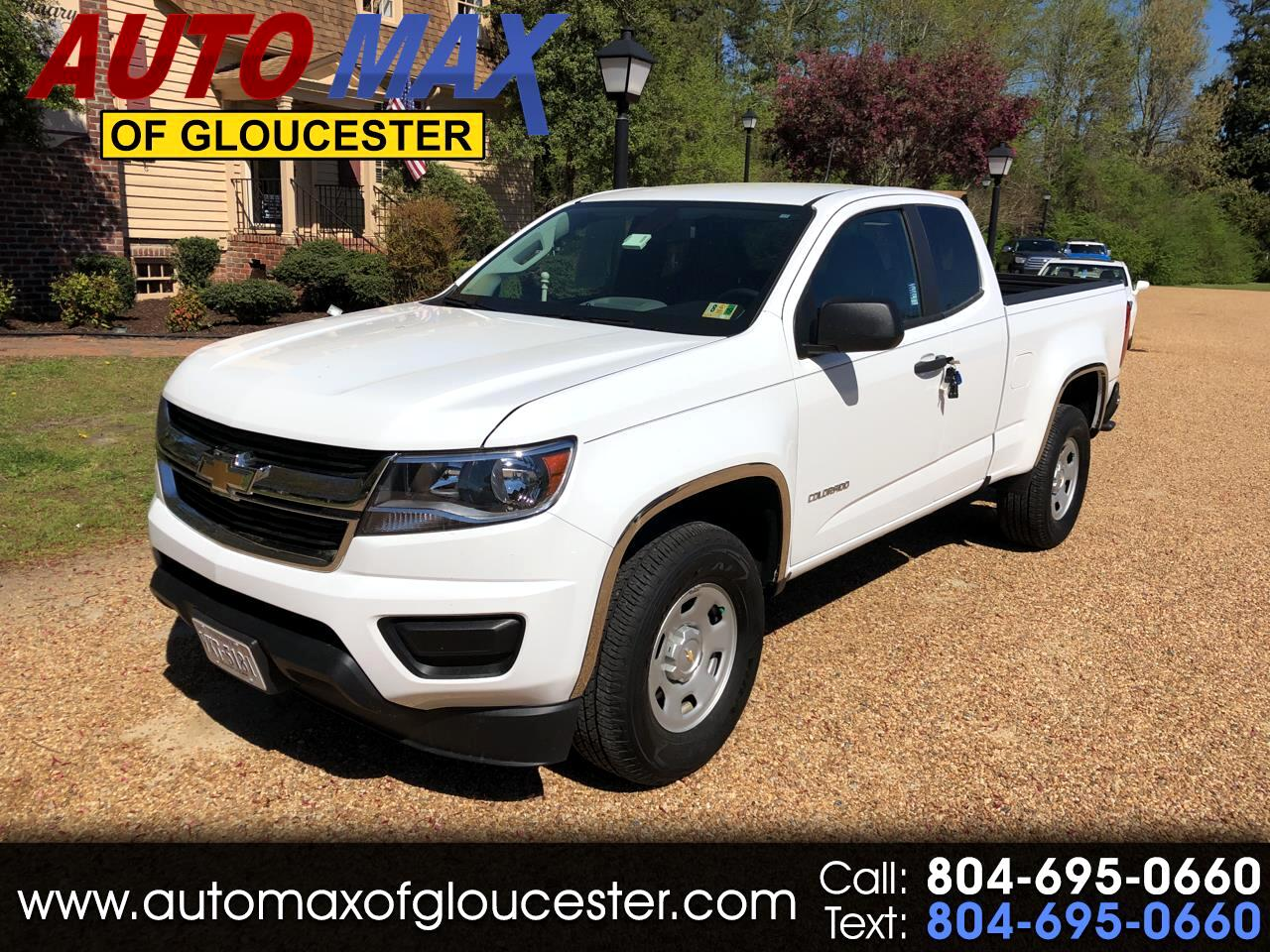 "2017 Chevrolet Colorado 2WD Ext Cab 128.3"" WT"