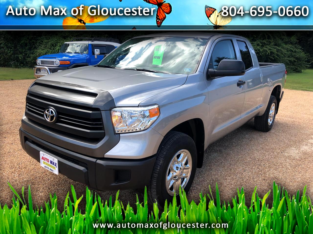 2015 Toyota Tundra 4WD Truck Double Cab 4.6L V8 6-Spd AT SR5 (Natl)