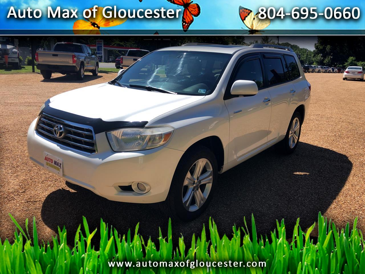 2010 Toyota Highlander FWD 4dr V6  Limited (Natl)