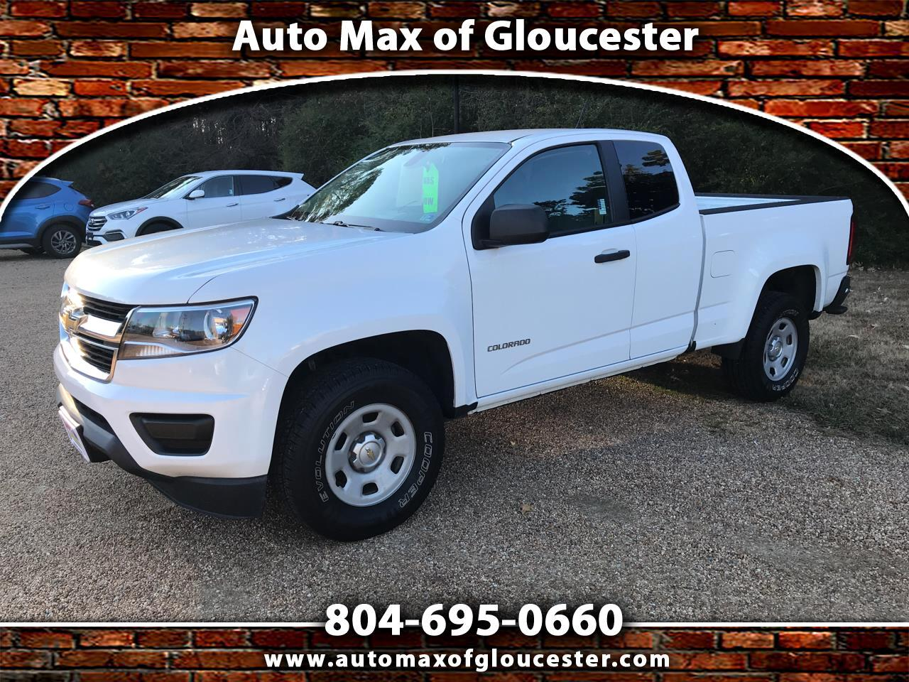 "Chevrolet Colorado 2WD Ext Cab 128.3"" WT 2015"
