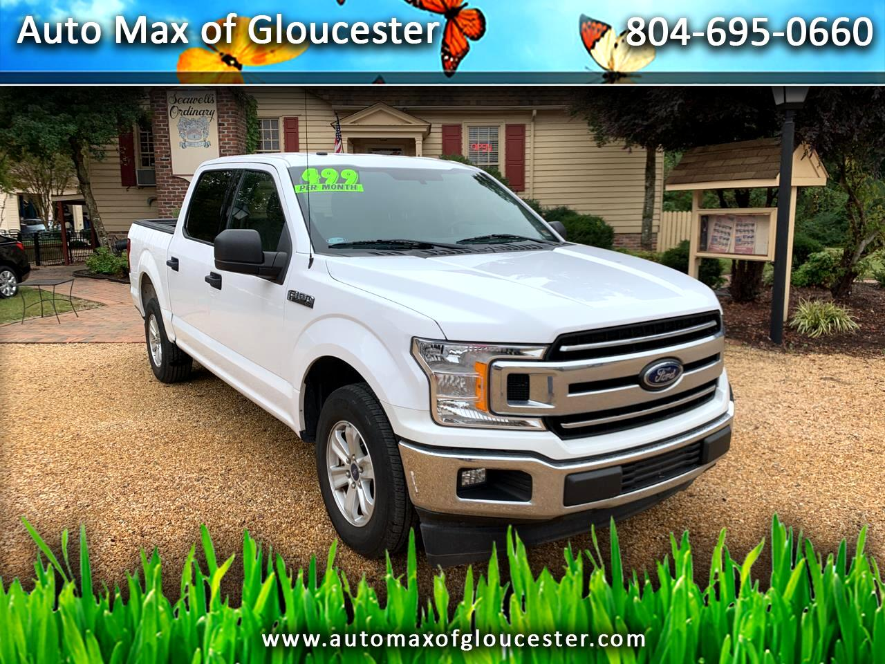 "Ford F-150 2WD SuperCrew 139"" XLT 2018"