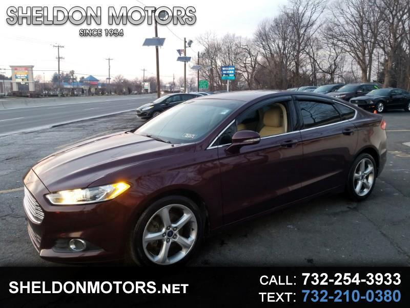 2013 Ford Fusion LUXURY SE