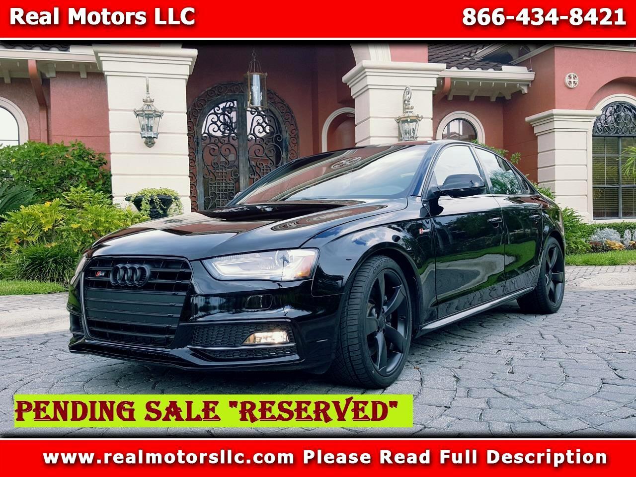 2016 Audi S4 Prestige, Black Optic Package