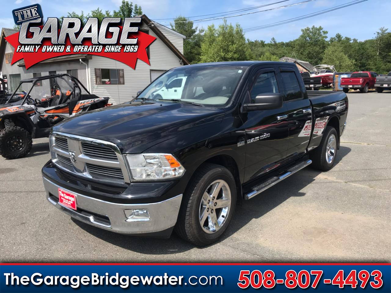 Used 2012 Ram 1500 4wd Crew Cab 149 Quot Big Horn For Sale In