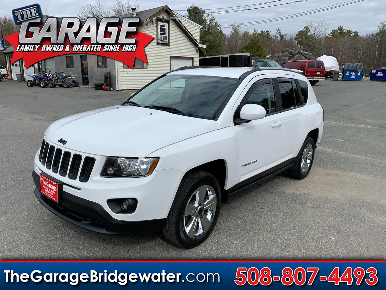 Jeep Compass Latitude 4WD 2016