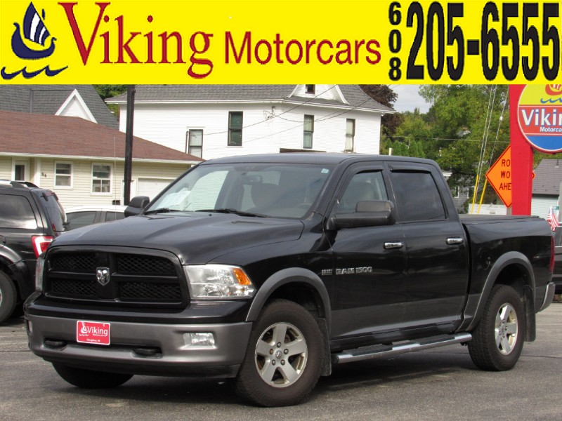 2011 Dodge Ram Pickup 1500 SLT Plus Quad Cab Short Bed 4WD