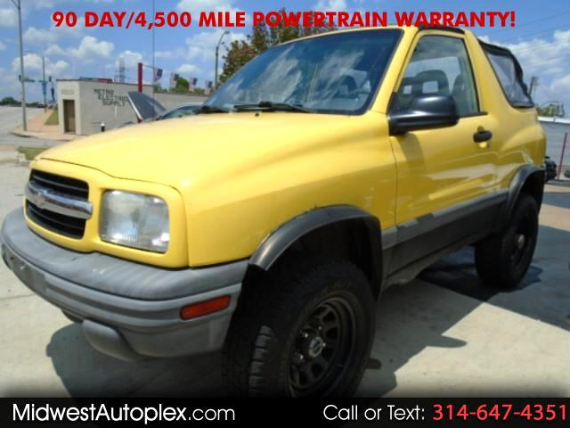 2002 Chevrolet Tracker 2-Door Convertible 4WD