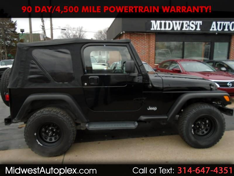 2006 Jeep Wrangler Golden Eagle 4x4