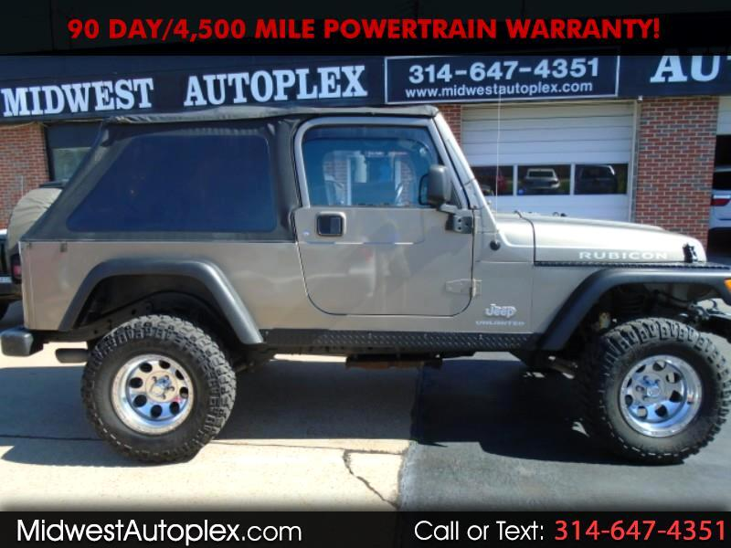 Jeep Wrangler 2dr Unlimited Rubicon LWB 2006