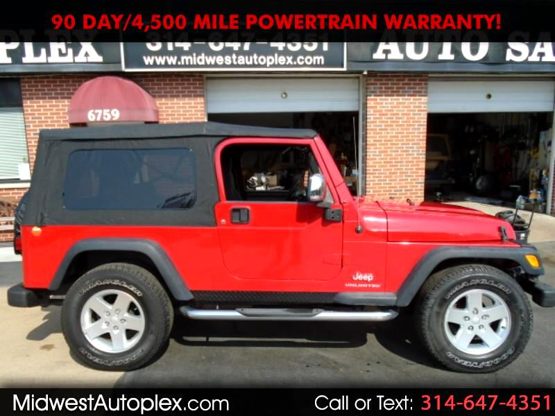 Jeep Wrangler Unlimited Sport 4WD 2006