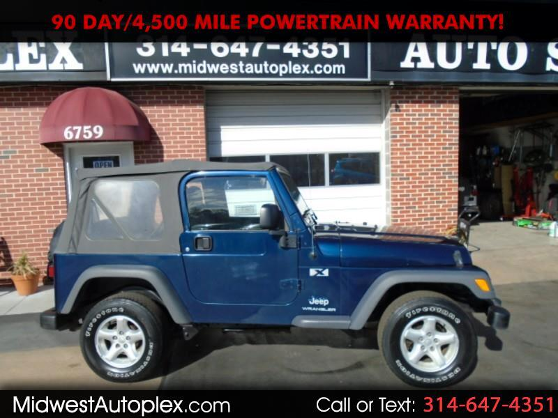 Jeep Wrangler 4WD 2dr X 2005