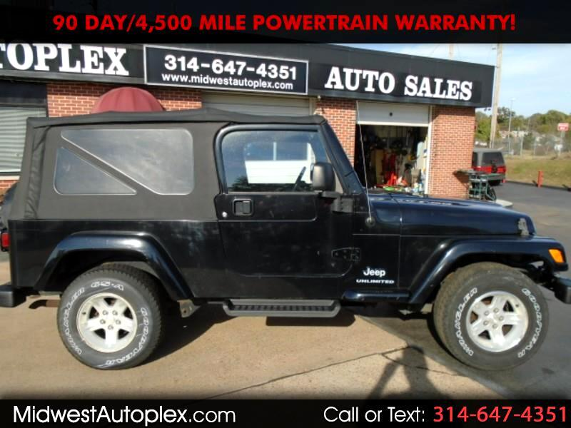 Jeep Wrangler Unlimited Sport 4D SUV 4WD 2006