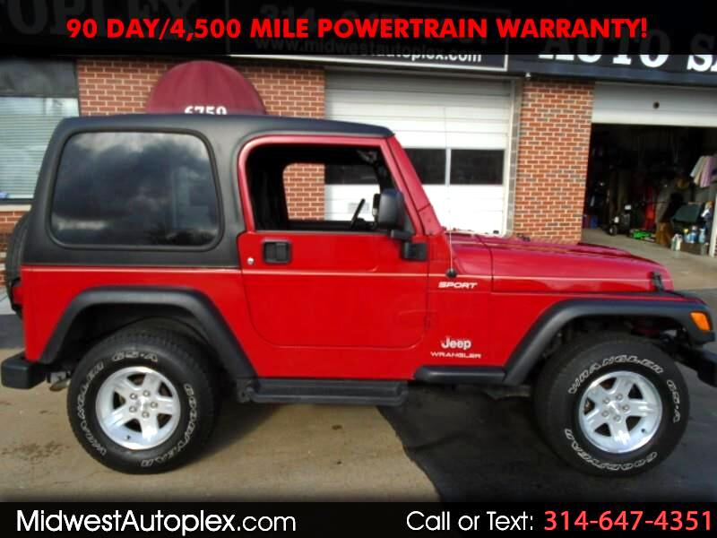 Jeep Wrangler 4WD 2dr Sport 2006