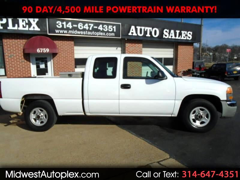 GMC Sierra 1500 SLE Ext. Cab Short Bed 2WD 2003