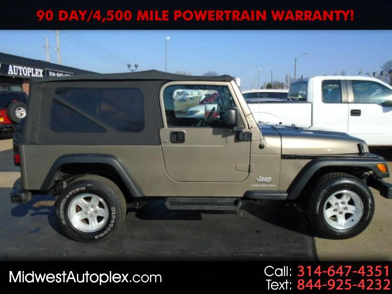 Jeep Wrangler Unlimited Sport 4x4 2004
