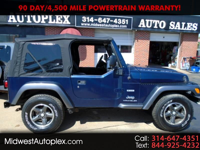 Jeep Wrangler 4WD 2dr Freedom Edition *Ltd Avail* 2004